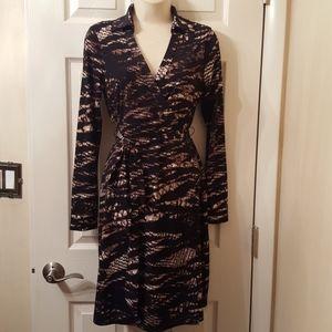 Calvin Klein Animal Print Dress